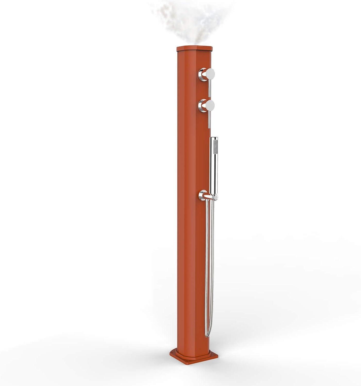 Arkema Solare Auendusche mit Zerstuber und Handbrause Mobile Jolly Go Orange