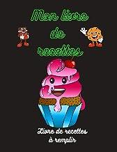 Mon livre de recettes (French Edition)