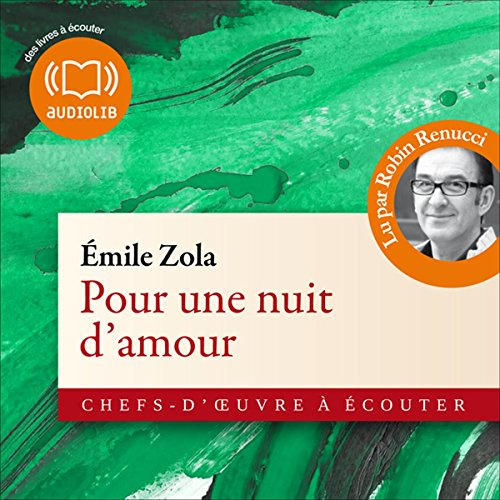Pour une nuit d'amour audiobook cover art