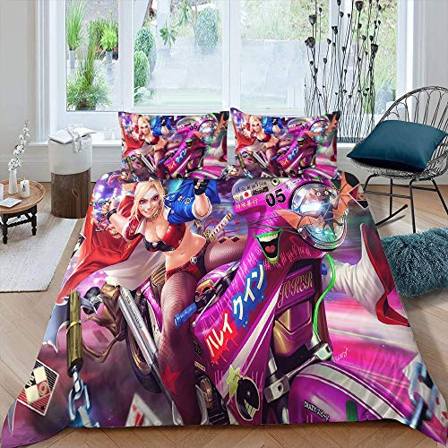 610oLNXbl7L Harley Quinn Bed Sets