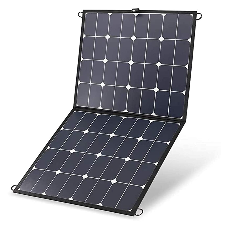 株式不公平サラダ10Aコントローラー100W 12V軽量ソーラーパワー携帯電話充電器、キャンプ用折りたたみ式ソーラーパネル、RV、ホーム