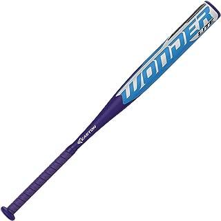 EASTON WONDERLITE -13 Fastpitch Softball Bat | 2020 | 1 Piece Composite | Hyperlite Composite Barrel | Optimizes Sweet Sport For Maximum Performance | Hyperskin Grip | Approved All Fields