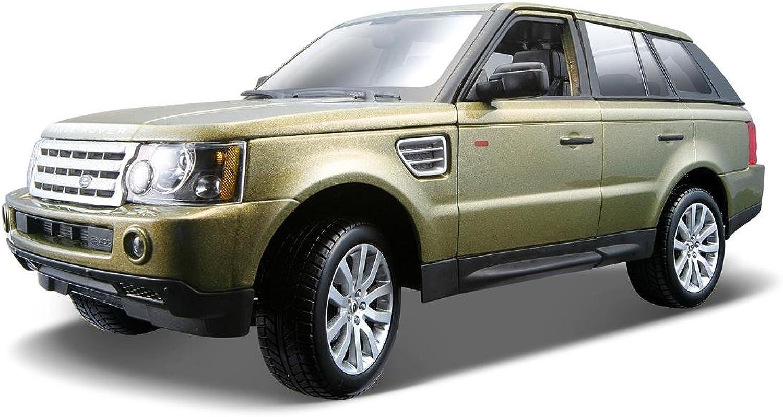 Bburago 1 18 Champagne gold Range Rover Sport