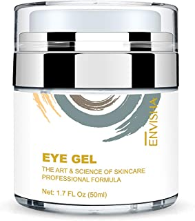 Wumal Eye Cream for Dark Circles, Fine Lines, Puffiness, Wrinkles and Bags - Effective Anti Aging Eye Gel Under and Around Eyes - Hydrating, Firming, Rejuvenates Skin