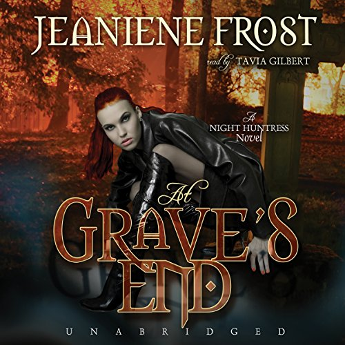At Grave's End audiobook cover art