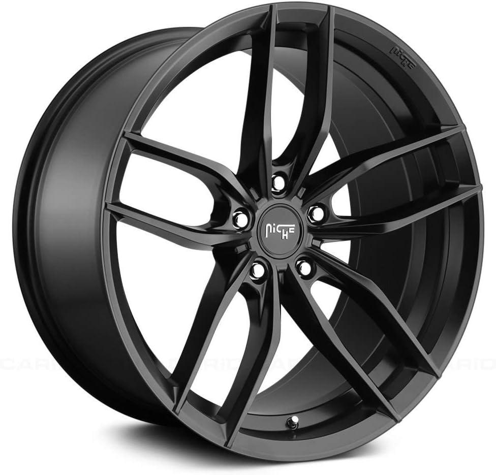 Niche M203 Vosso 19x9.5 5x112 Rim Max 59% OFF Black Wheel +38mm Classic Matte