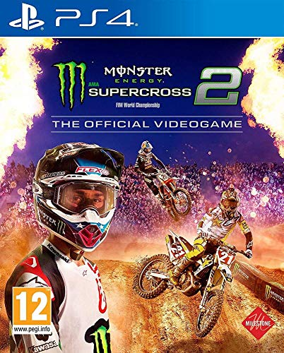 Monster Energy Supercross 2 PS4-Spiel