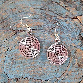 Spiral Earrings   Simple Jewelry Gift for Women   Handmade by Artisans in the Dominican Republic   Madres Collective