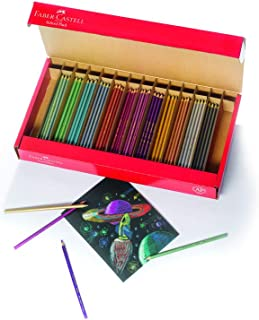 Faber-Castell - Metallic Colored EcoPencils School Pack - Premium Art Supplies For Kids (20 Sets of 12 Colors)