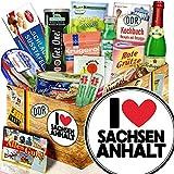 I Love Sachsen-Anhalt - Sachsen-Anhalt Andenken - DDR Spezialitäten Box