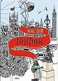 Mal dir London: 20 zauberhafte Stadtansichten zum Ausmalen & Entspannen - Hennie Haworth