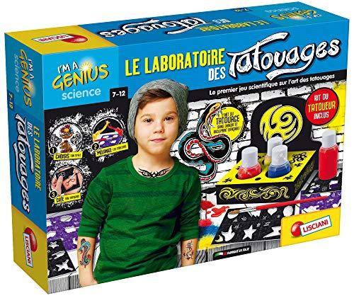 Lisciani- I'm A Genius Le Laboratoire des Tatouages (Tattoos), EX72965