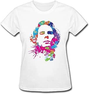 Toomii Women's Rafael Nadal Colored Head Portrait T Shirts