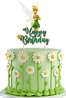 Tinkerbell Cake Topper Decorations Birthday Party Toppers for Children, 1 count