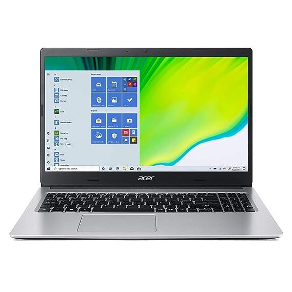 "Acer Aspire 3 A315-23 15.6"" (39.62cms) Laptop (AMD Athlon Silver 3050U dual-core/4GB/1TB HDD/Window 10, Home, 64Bit/AMD RadeonTM Graphics), Silver"