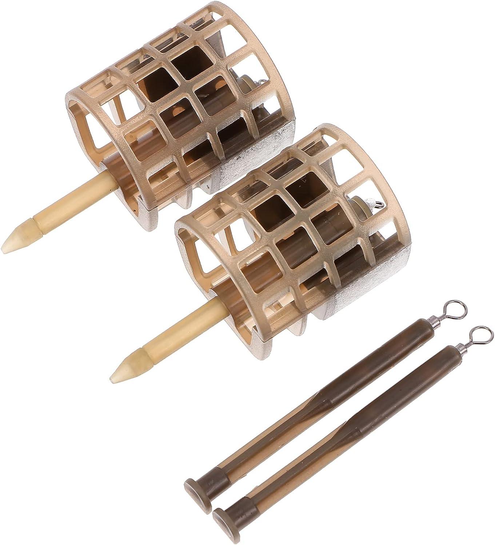 BESPORTBLE 2pcs Fishing Ultra-Cheap Import Deals Lure Trap B Basket Cages