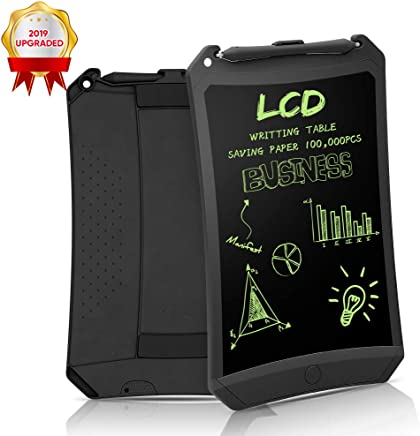 LCD Writing Tablet, 8.5 Inch Electronic Drawing Writing Board for Kids & Adults, Handwriting Paper Doodle Pad for School Office Fridge or Family Memo Electronic Graphic Drawing Tablet (Black)