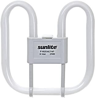 Sunlite F21/2D/835/4P 21-Watt 2D Linear Fluorescent Light Bulb GR10q Base, 3500K