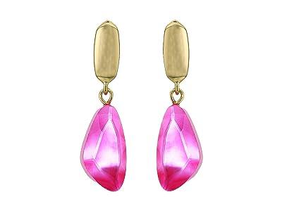 Kendra Scott Ivy Drop Earrings (Gold Deep Blush Mother-of-Pearl) Earring