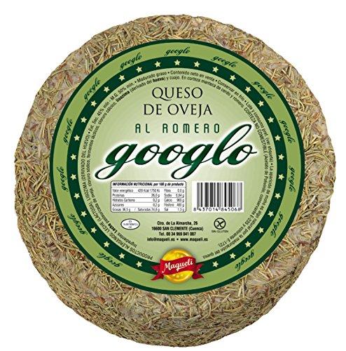 Maqueli - Queso al Romero de Oveja Gourmet Gran Selección Googlo 1 KG