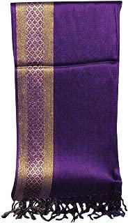 Wiwsi Scarf High Quality Shawl Wrap Scarves For Women Wedding Evening Party Wear