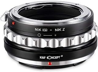 K&F Concept マウントアダプター KF-NGZ (ニコンFマウント(Gタイプ対応)レンズ → ニコンZマウント変換) 絞りリング付き KF-NGZ
