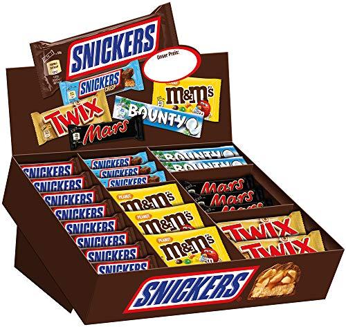 Mars Mixed Box Schokoriegel | Mars Topseller | 72 Riegel in einer Box (1 x 3.5 kg)