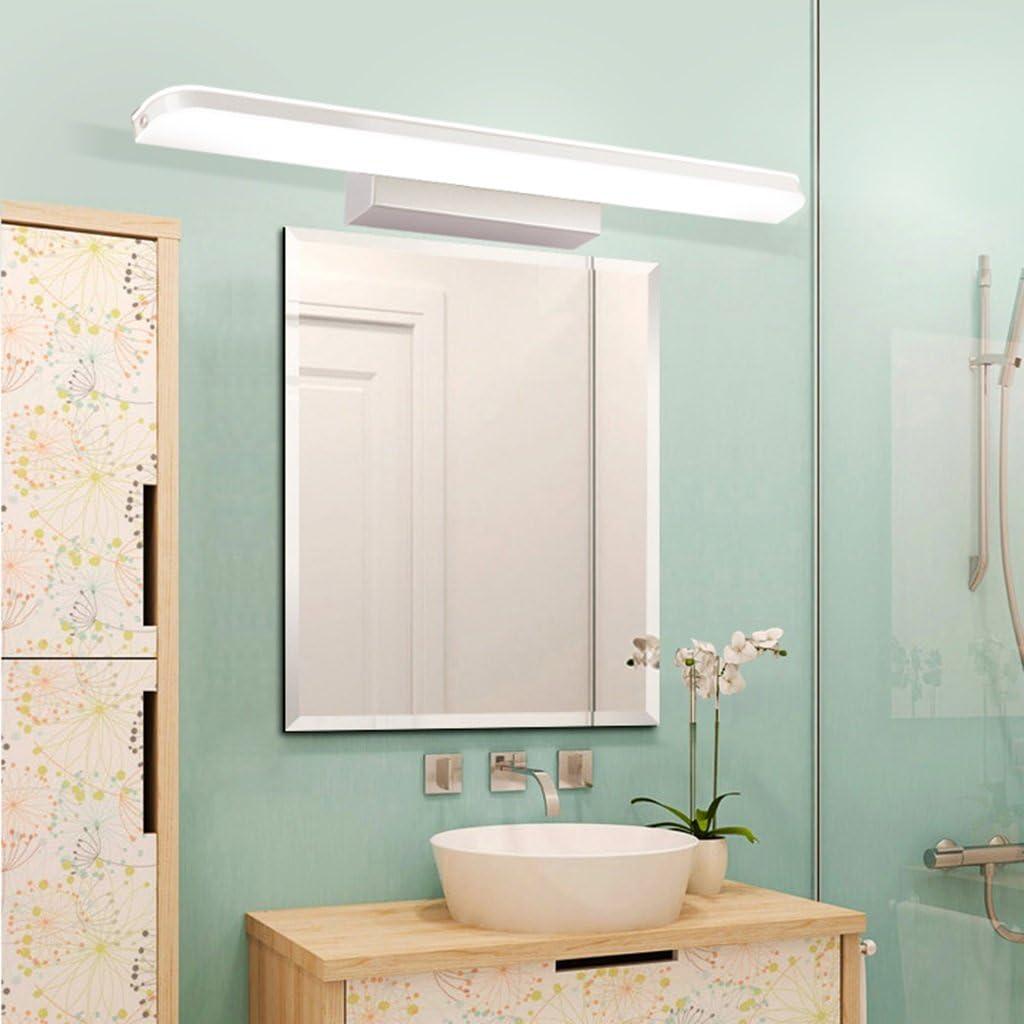 & Spiegellampen Spiegel-vordere Lichter, geführtes wasserdichtes Anti-fog Badezimmer-Badezimmer-Kleidertisch-Spiegel-helle Toiletten-Toiletten-Beleuchtung Badezimmerbeleuchtung Warmes Licht-14w/70cm