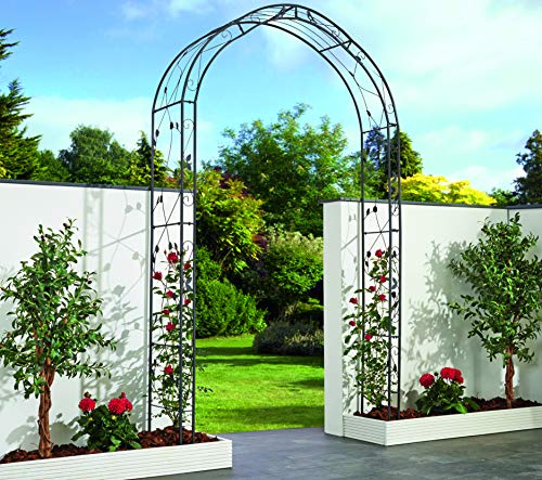 Garden Pleasure Design Metall Rosenbogen Rankhilfe Garten Rose Bogen Spalier