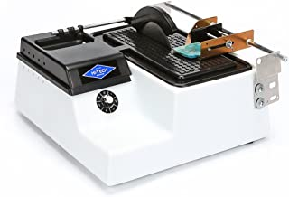 """Hi-Tech Diamond 6"""" Lapidary Trim Saw   Cutting Sawing Trimming Machine   Includes TWO 6"""" Diamond Saw Blades AND Vise Attachment"""