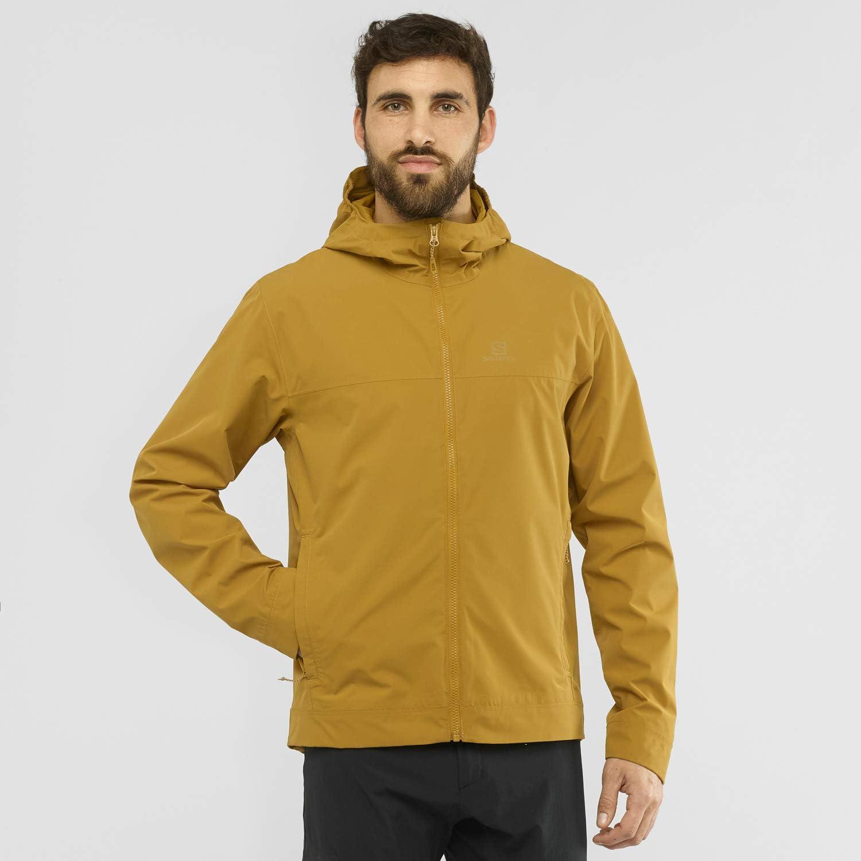 Salomon Veste imperm/éable pour Homme Indigo Bunting Taille 2XL LC1380900 Polyester//Polyamide EXPLORE WP JKT M Bleu