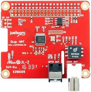 Digi HAT Digital Audio Add-on Board for Raspberry Pi (192KHz, 24bit, SP/DIF, IR)