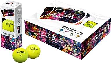 Saintnine Misty Golf Balls 2019 1 Dozen Yellow