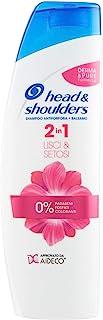 Head & Shoulders Shampoo 2In1 Capelli Lisci, 225ml