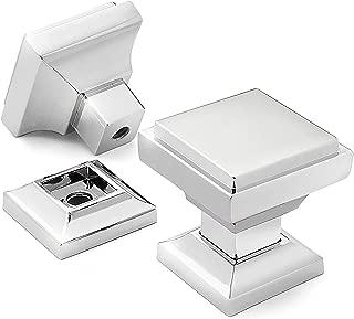 Cauldham 5 Pack Solid Kitchen Cabinet Knobs Pulls (1