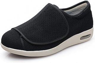 Pantofole Regolabili Strappo,Lose Daumen Valgus Schuhe, deformierte Füße Vollöffnung Diabetiker Schuhe,Uomo Ortopediche Sc...