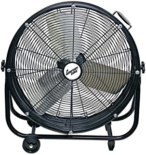 Comfort Zone CZMC24 HBCLCZMC24 Industrial Drum Fan, 24