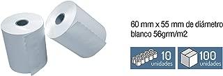 Roll of Register Paper – Thermal 60 mm x Ø 55 mm.