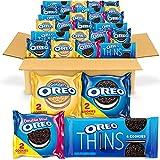 OREO Cookies Variety Pack, OREO Original, OREO Golden, OREO Double Stuf & OREO Thins, Halloween Snacks, 56 Snack Packs