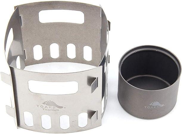 TOAKS Soporte para estufa de titanio