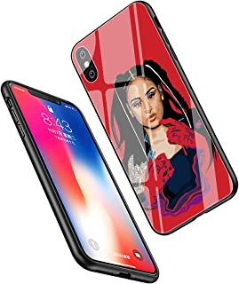 LiangChu 9H Tempered Glass iPhone XR Cases, LC-182 Kehlani Design Printing Shockproof Anti-Scratch Soft Silicone TPU Cover Phone Case for Apple iPhone XR
