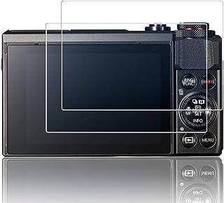【2枚セット】Canon PowerShot G9X ガラスフィルム G7X / G7 X MarkII / G5X / G9X Mark II 液晶 保護フィルム キャノン パワーショット G7Xmark2 用