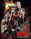 Generic Brands AC DC Vintage Blechschild Kunst Eisen