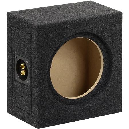 Geschlossenes Subwoofer Leergehäuse 12 30cm 20l Audio Hifi