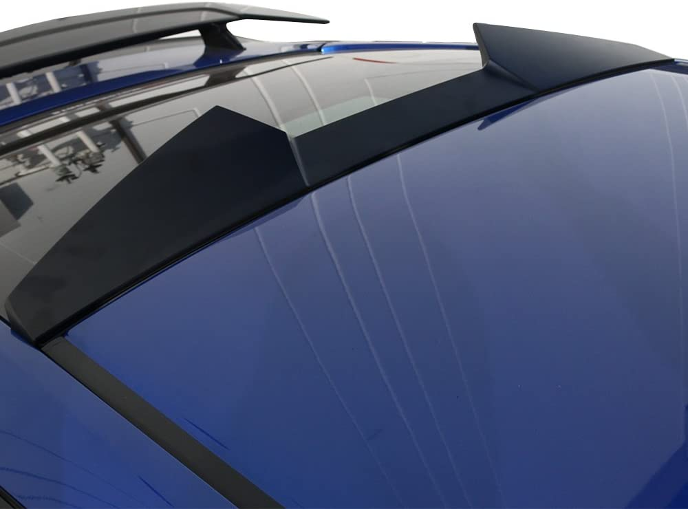 V Style Painted #B561P Dyno Blue Pearl ABS Rear Wing Roof Spoiler Compatible With 2016-2020 Honda Civic Coupe 2-Door IKON MOTORSPORTS