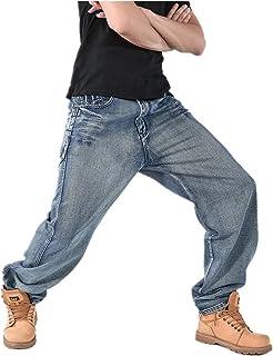 ジーンズ デニムパンツ メンズ カーゴパンツ 極太 バギーパンツ ワイドパンツ ヒップホップ ボトムス ストリート系 大きいサイズ B系 ゆったり