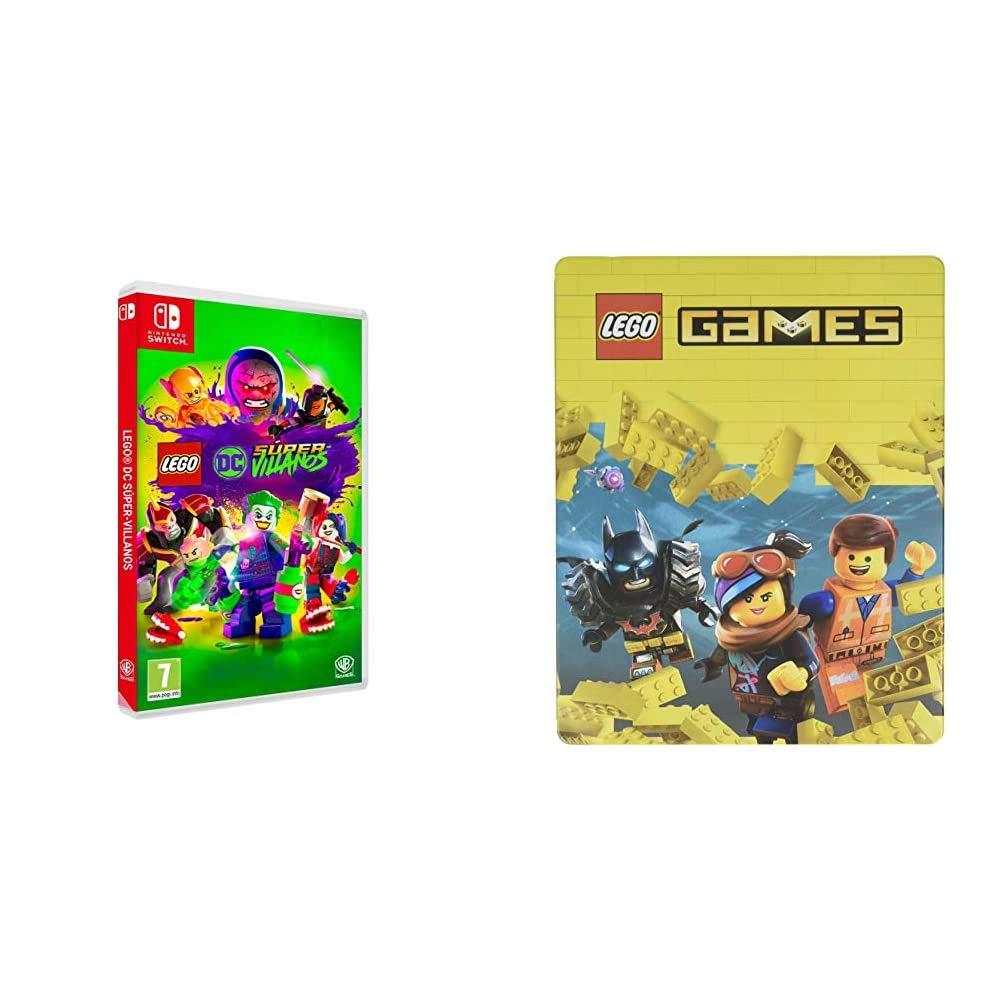 Lego DC Super-Villanos Nintendo Switch, Edición Exclusiva Amazon + Steelbook Lego Games: Amazon.es: Videojuegos