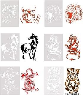 lion cake template