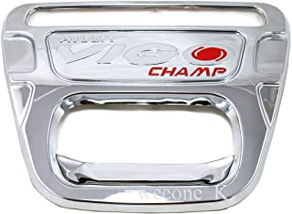 K1AutoParts Chrome Outside Rear Back Liftgate Tailgate Bowl Handle Cover Trim For Toyota Hilux Pickup Mk7 Vigo Champ 2012 2013 2014