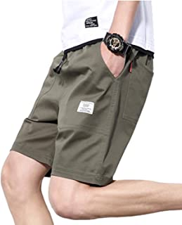 [SeBeliev(シービリーヴ)] ゆったり ハーフパンツ カジュアル 短パン メンズ 半ズボン 5分丈 夏 迷彩 カモ 綿
